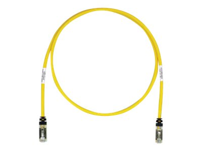 Panduit CAT6A S FTP Copper Patch Cable, Yellow, 3m