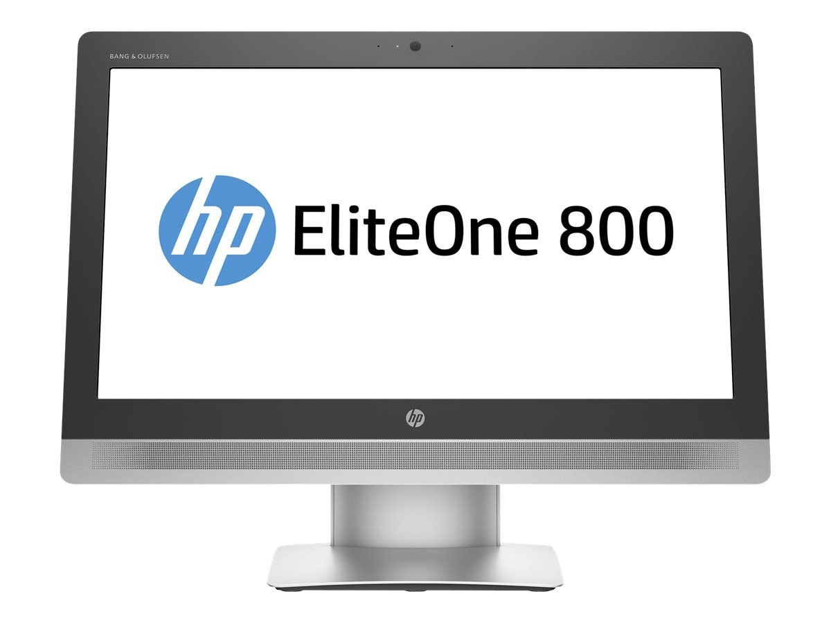 HP EliteOne 800 G2 AIO Core i5-6500 3.2GHz 8GB 256GB SSD DVD-RW ac BT WC 23 FHD W7P64-W10P