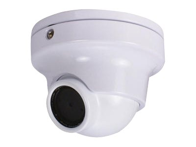 Speco Outdoor Day Night Vandal-Resistant Mini Turret Camera, 3mm Lens, White, CVC61ILTW, 14431709, Cameras - Security