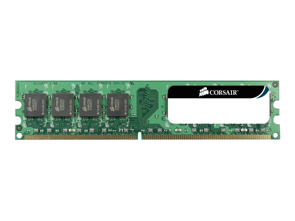 Corsair 2GB PC2-6400 240-pin DDR2 SDRAM DIMM, VS2GB800D2, 9834634, Memory