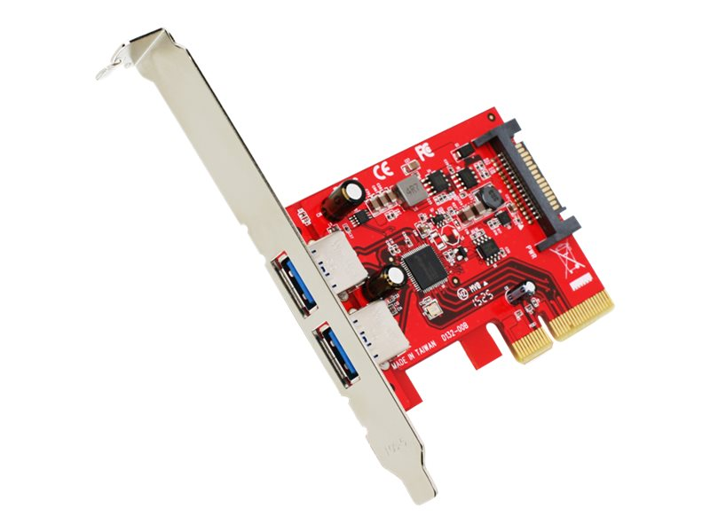 IOGEAR 2-Port SuperSpeed+ USB Type A PCIe Card, GIC3U2