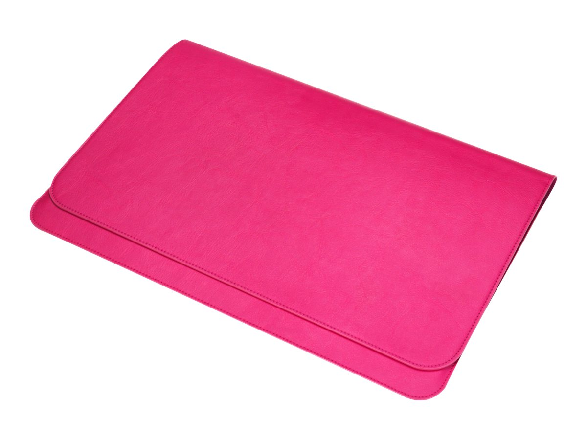Samsung Series 5 Ultrabook Synthetic Leather Pouch, 13, Pink, AA-BS4N13P/US, 14980222, Carrying Cases - Tablets & eReaders