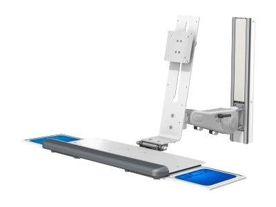 GCX VHM Variable Height Arm for Displays up to 30 Pounds, WS-0004-61B