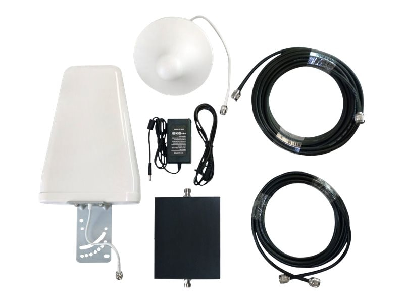 Premiertek 1900MHz Dual Band Cellular Signal Amplifier Kit for Home  and Office