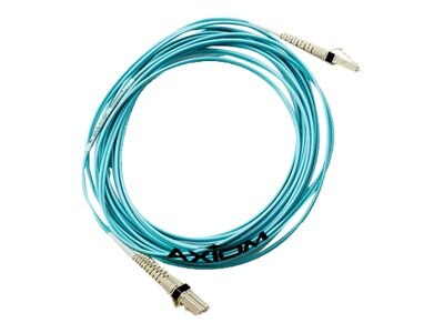 Axiom LC-SC 50 125 OM3 Multimode Duplex Cable, Aqua, 25m, LCSC10GA-25M-AX, 17659426, Cables