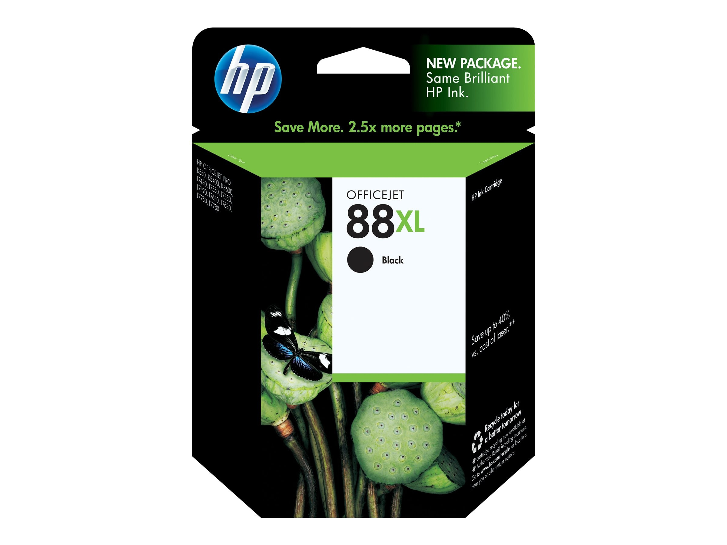 HP 88XL (C9396AN) High Yield Black Original Ink Cartridge