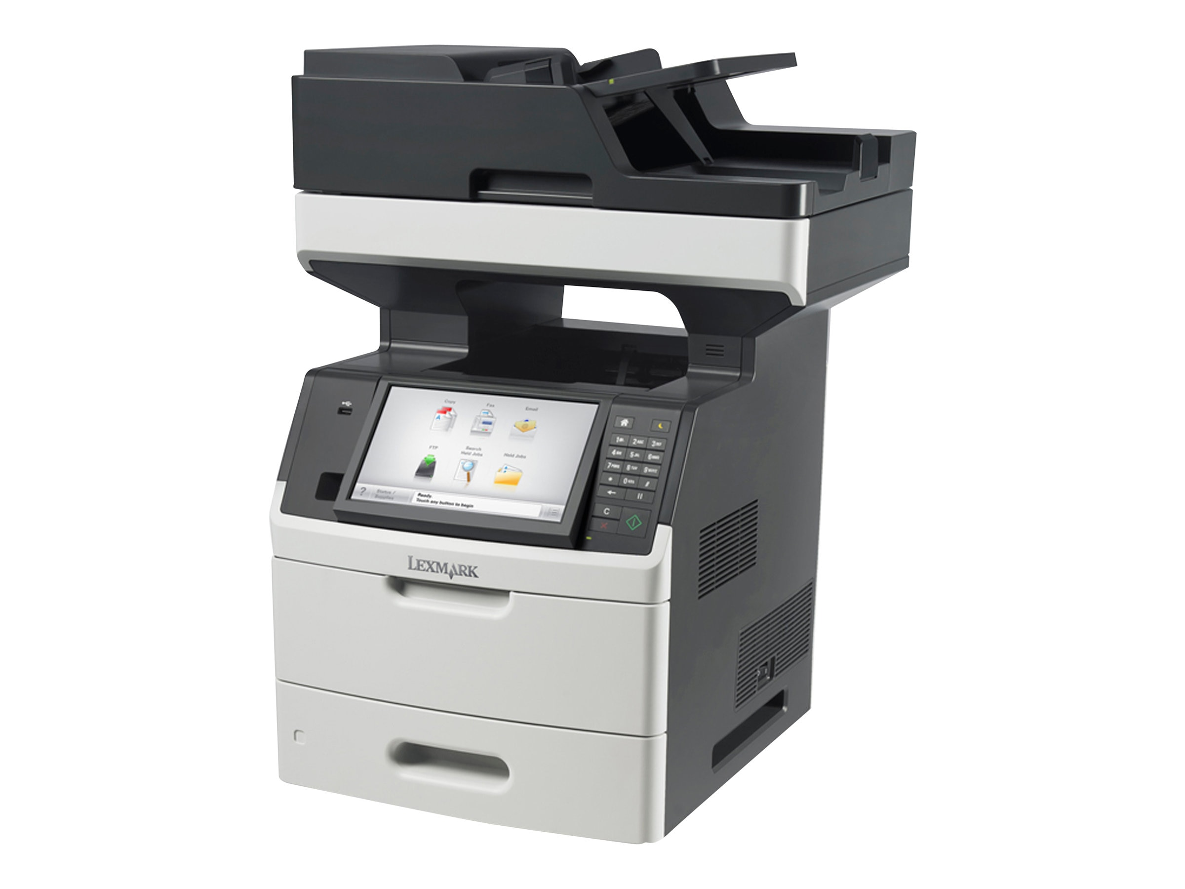 Lexmark MX711dhe Monochrome Laser Multifunction Printer, 24TT403, 31025577, MultiFunction - Laser (monochrome)