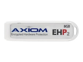 Axiom 16GB USB 2.0 Flash Drive with 256-bit AES Encryption Security, USBEHP216GB-AX, 15482031, Flash Drives