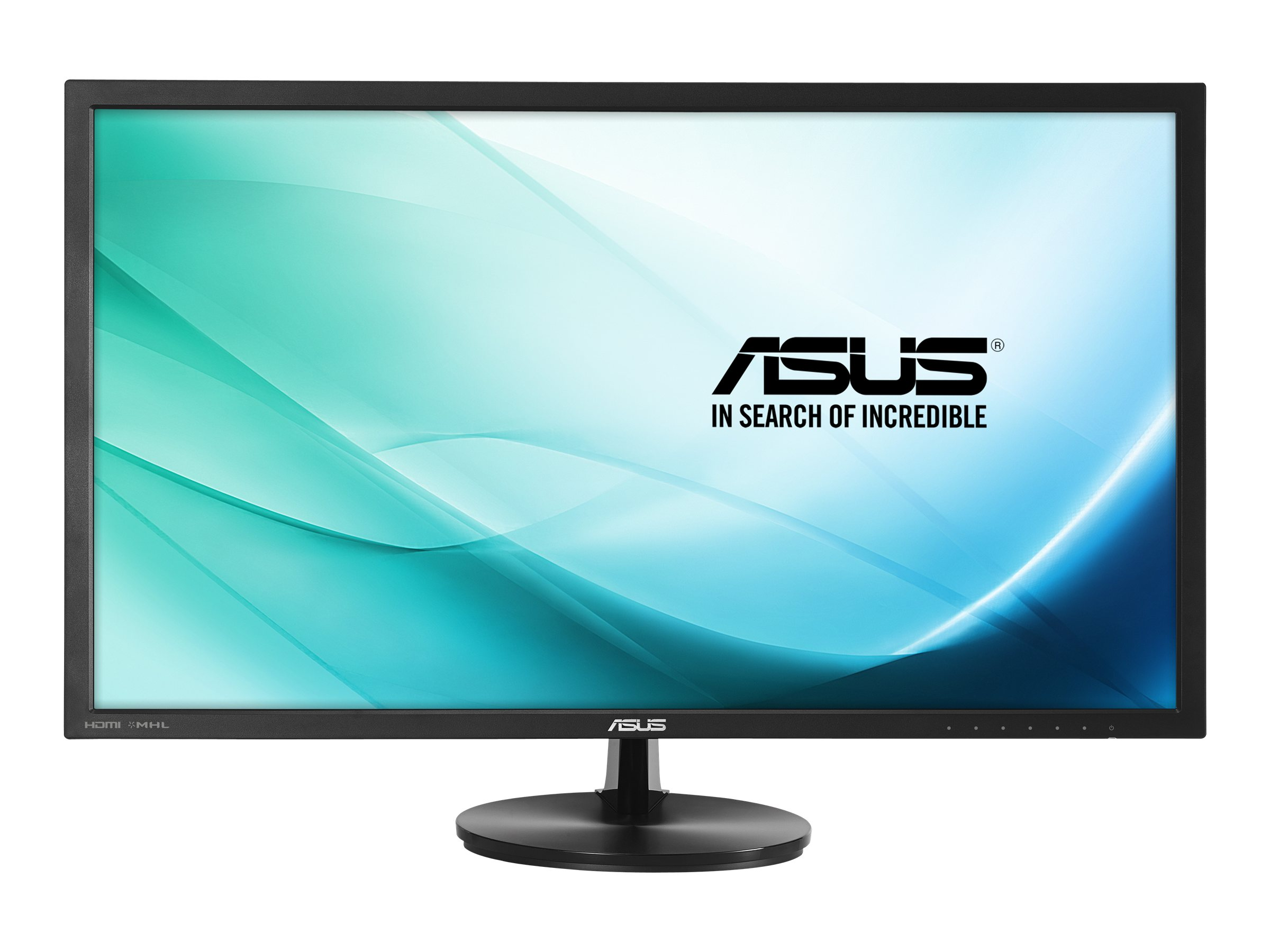 Asus 28 VN289H Full HD LED-LCD Ultra Wide View Monitor, Black with Eye-Care Function, VN289H, 16908363, Monitors - LED-LCD