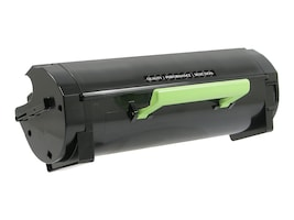 V7 50F1X00 Black Extra High Yield Toner Cartridge for Lexmark MS410, MS510 & MS610, V7MS410, 17345603, Toner and Imaging Components