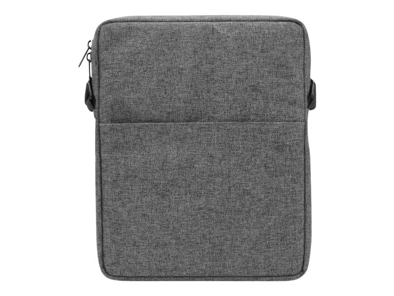 V7 Vertical Messenger Bag for iPad Air, Tablets PC FP to 10.1, Gray