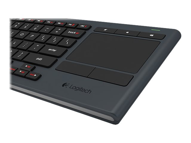 Logitech Illuminated Living-Room Keyboard K830, 920-007182