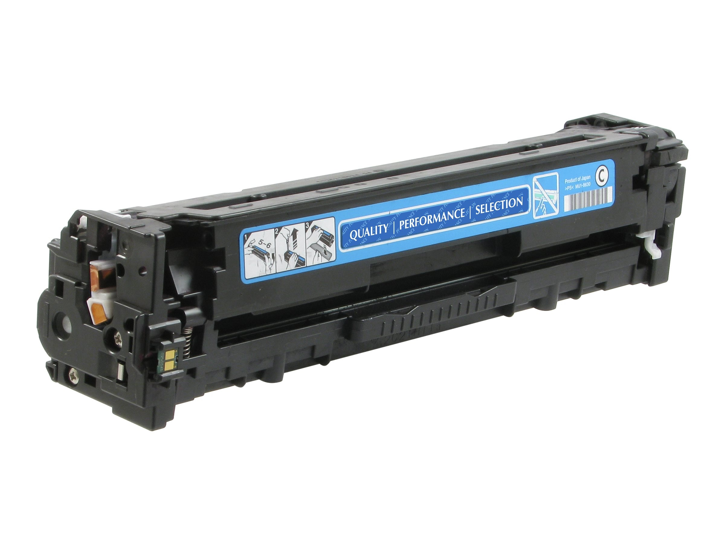 V7 CF211A Cyan Toner Cartridge for HP LaserJet 200 Color M251 M276