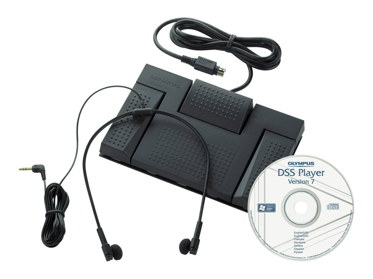 Olympus AS 2400 Transcription Kit Digital, 147588, 9258420, Voice Recorders & Accessories