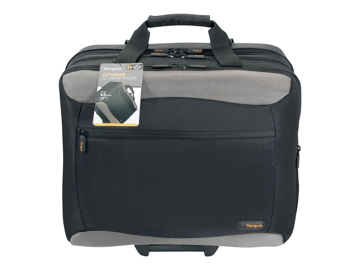 Targus 17 Rolling Travel Notebook Case, Black, 840D Nylon, TCG717, 5365594, Carrying Cases - Notebook