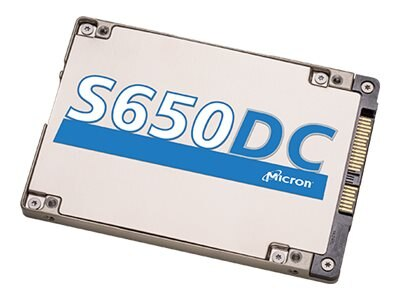 Crucial 400GB S650DC SAS 12Gb s 512 Byte SED-TCG eSSC 2.5 7mm Internal Solid State Drive