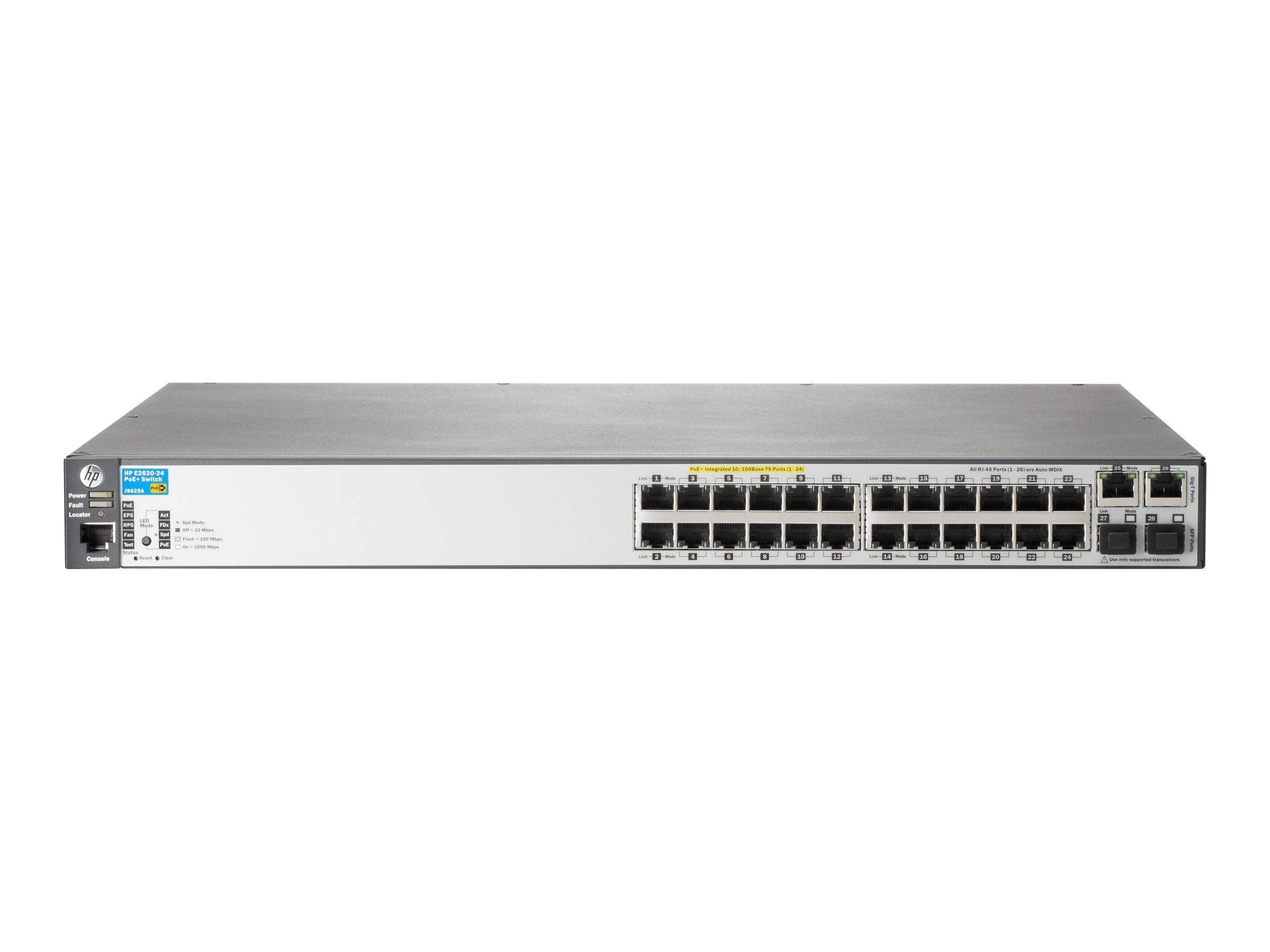 HPE Aruba 2620 24 PoE+ Switch