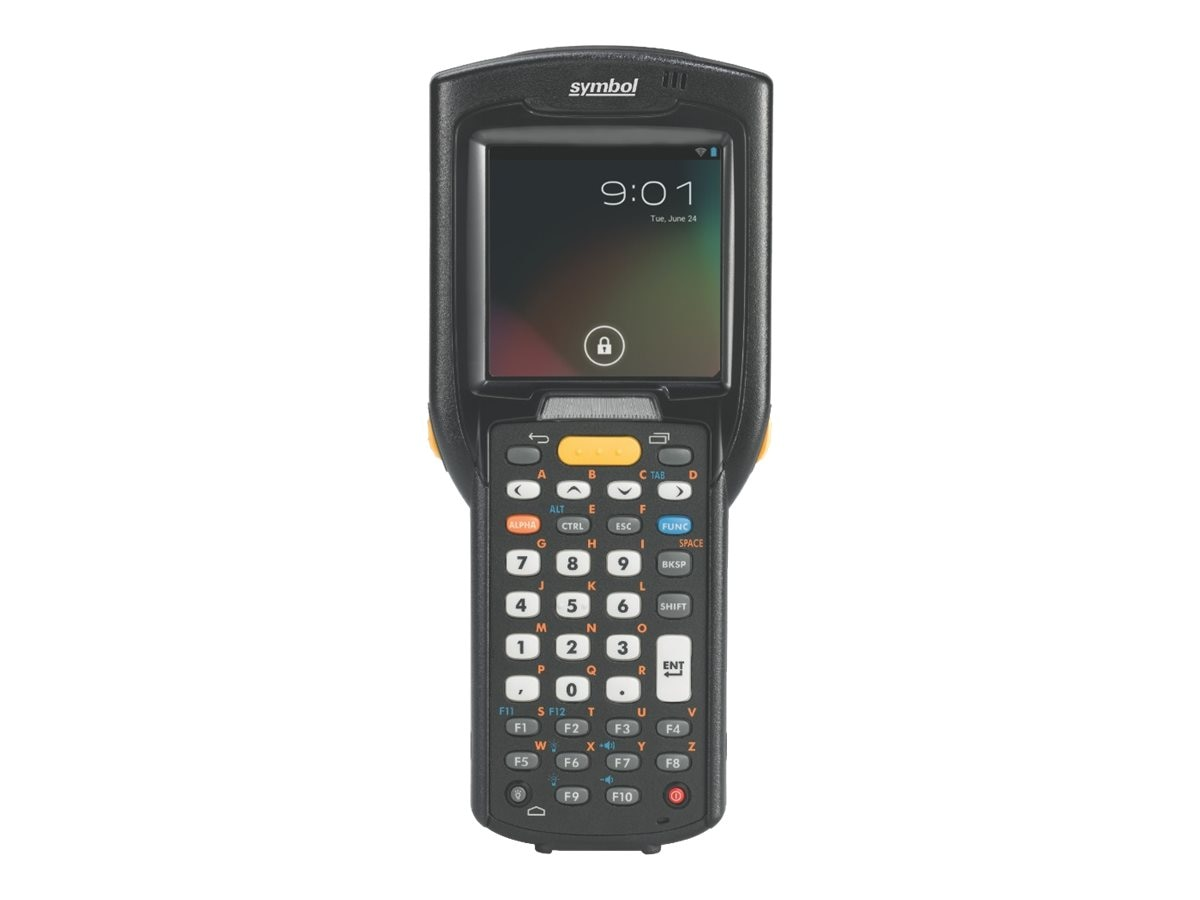Zebra Symbol MC3200 Straight Shooter, 1D Laser, WEC 7, 48-key Keypad, Wi-Fi, Bluetooth, High Cap Battery