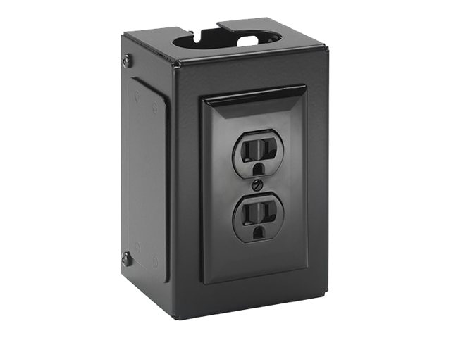 Chief Manufacturing Fusion Power Outlet Accessory, Black (TAA)