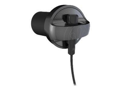 Ifrogz Carbide Earbuds - Black, IFCARE-BK0, 23095268, Headsets (w/ microphone)