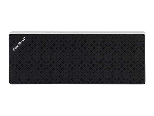 Gear Head Bluetooth Wireless Slim Speaker - Black, BT8500BLK