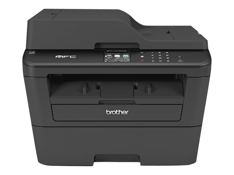 Brother MFC-L2720DW Compact Laser All-in-One, MFCL2720DW, 17660718, MultiFunction - Laser (monochrome)