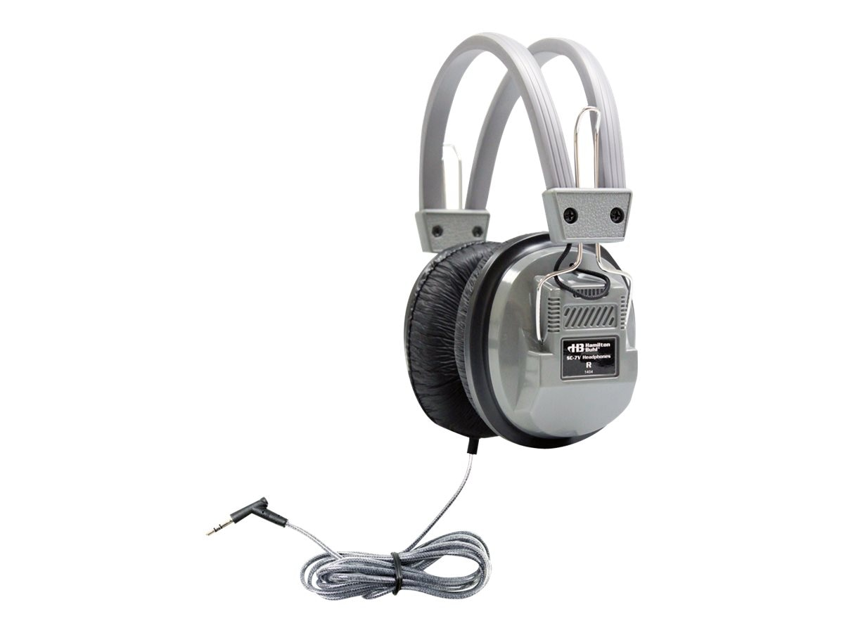 Hamilton SC-7V Over-Ear Stereo Headphones w  Volume Control, SC-7V