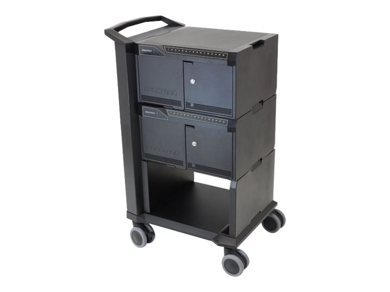 Ergotron Tablet Management Cart 32, with ISI, DM32-1004-1, 17372880, Computer Carts
