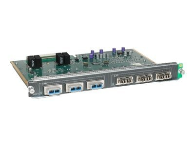 Cisco Catalyst 4500 E-Series 6-port 10GbE (X2), WS-X4606-X2-E=, 8193038, Network Switches