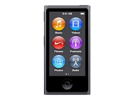 Apple 16GB iPod nano - Space Gray, MKN52LL/A, 25875111, DMP - iPod Nano