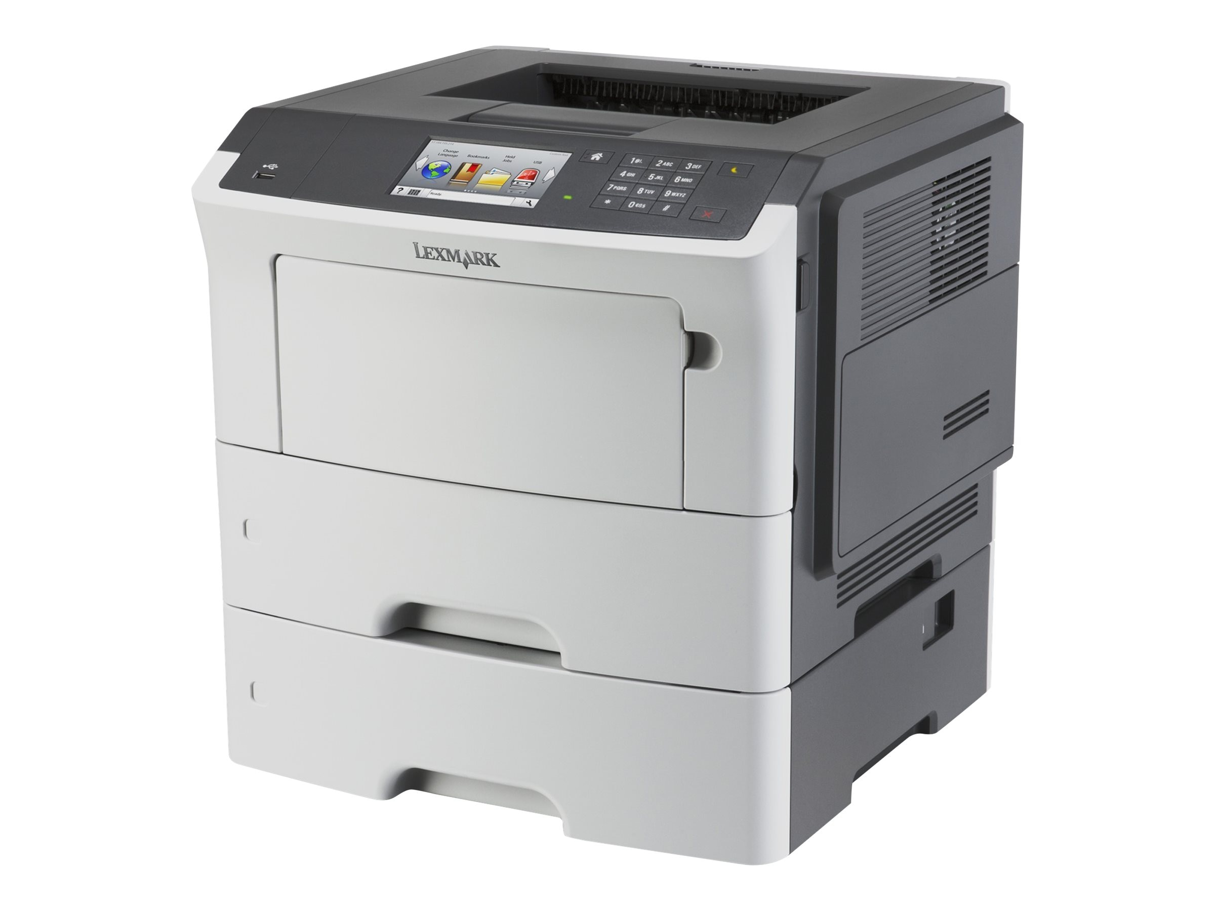 Lexmark MS610dte Monochrome Laser Printer (TAA Compliant), 35ST550
