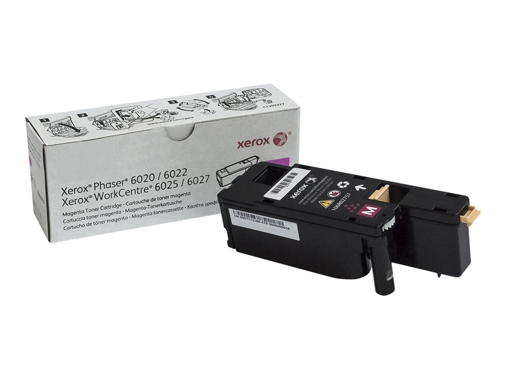 Xerox Magenta Toner Cartridge for Phaser 6022 & WorkCentre 6027, 106R02757