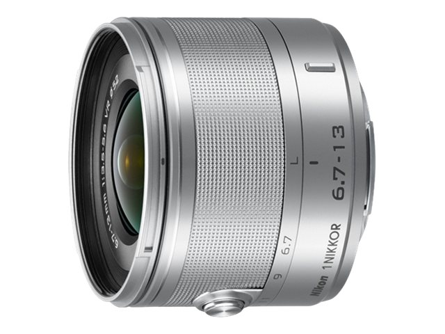 Nikon Nikkor 6.4-13mm f 3.5-5.6 VR Lens, Silver, 3330, 15256691, Camera & Camcorder Lenses & Filters