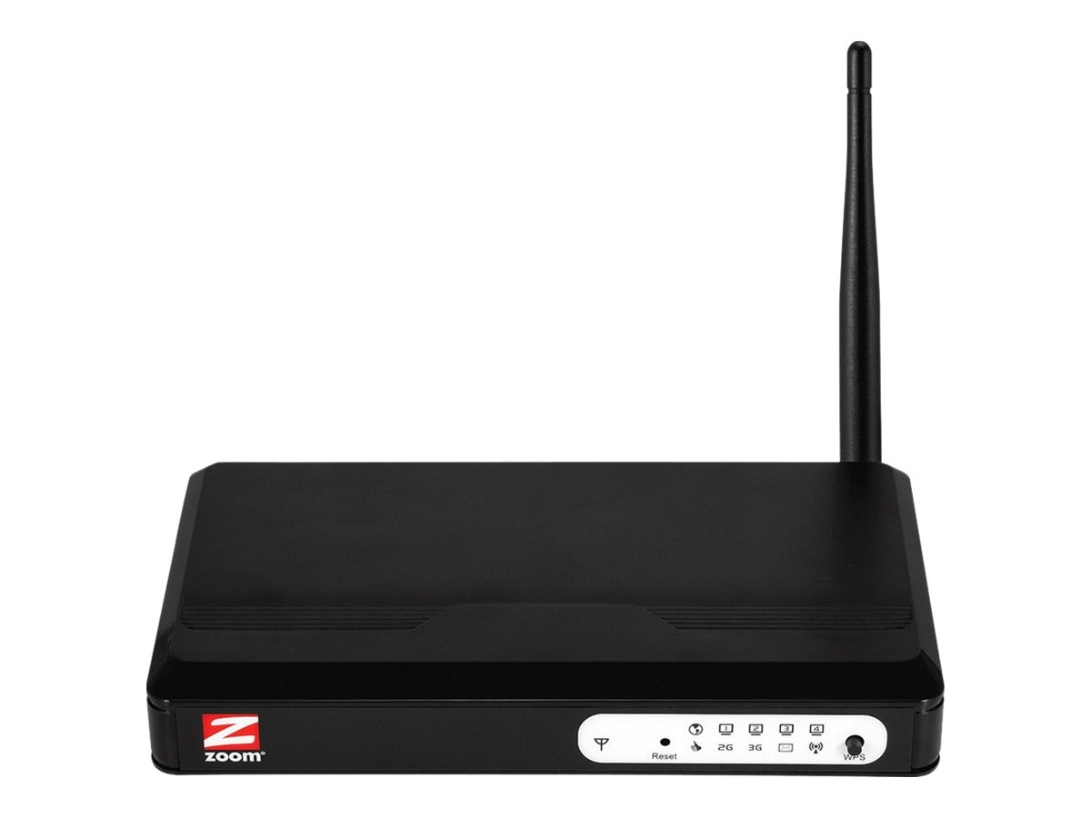 Zoom Wireless N 3G Modem Router, 45300000