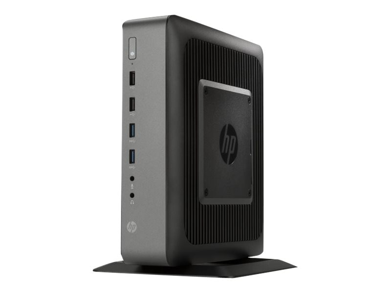 HP t620 PLUS Flexible Thin Client AMD QC GX-420CA 2.0GHz 4GB RAM 16GB Flash GbE VGA WE864, J2L59UA#ABA, 17356708, Thin Client Hardware
