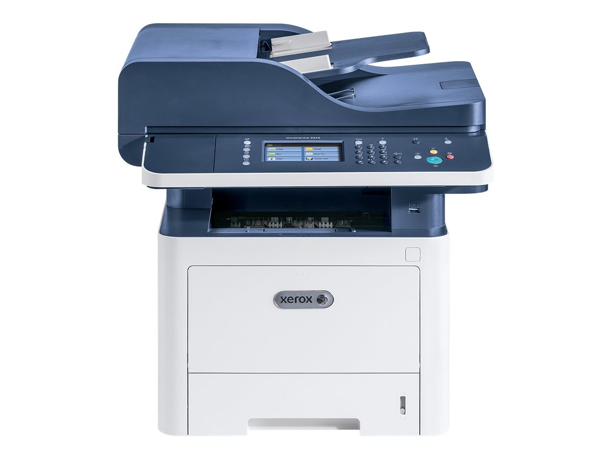 Xerox WorkCentre 3345 DNI Monochrome Multifunction Printer, 3345/DNI