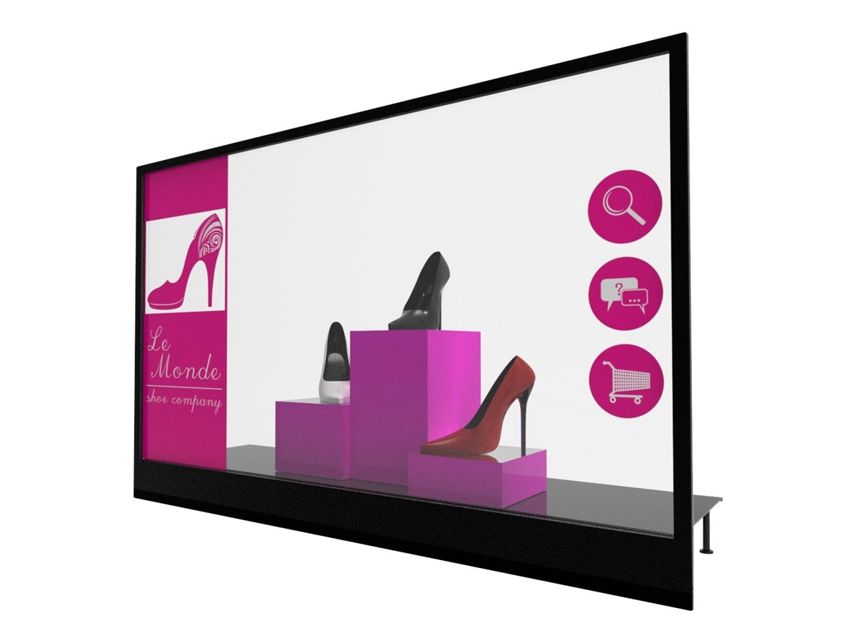 Planar 55 LO55-S Full HD Transparent OLED Display with Straight Mount, 997-8220-00