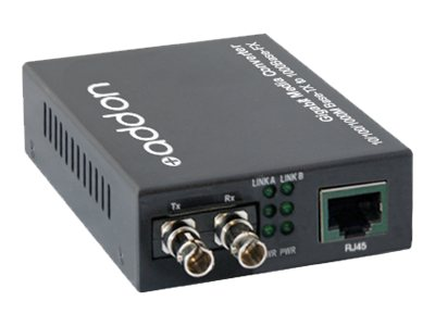 ACP-EP Open Box 1000Base-TX(RJ-45) to 1000Base-MX(ST) Media Converter, ADD-GMC-MX-ST, 31271680, Network Transceivers