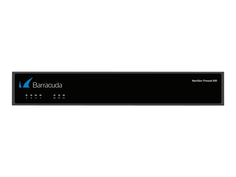 Barracuda NG Firewall X50 w 3-year Energize Updates, BFWX50A3