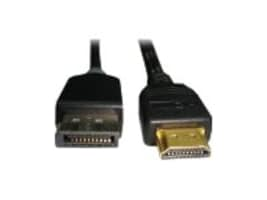 Unirise HDMI to DisplayPort M M Cable, White, 6ft, HDMIDP-06F-MM, 16792372, Cables