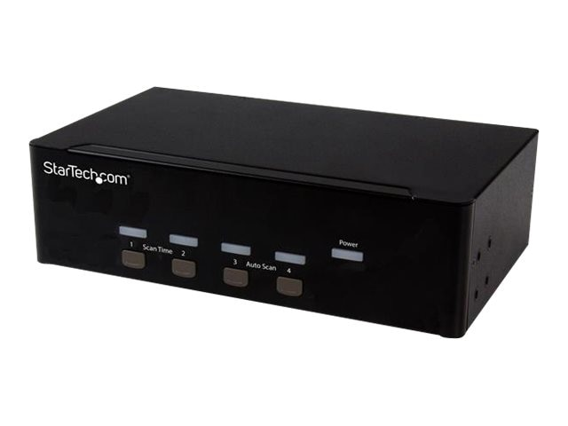 StarTech.com 4-port KVM Switch with Dual VGA, SV431DVGAU2A, 23730170, KVM Switches
