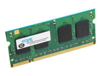 Edge 2GB PC2-6400 200-pin DDR2 SDRAM SODIMM, PE212087, 8667125, Memory