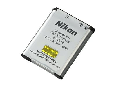 Nikon EN-EL19 Li-Ion Rechargeable Battery, 25837, 13136062, Batteries - Camera