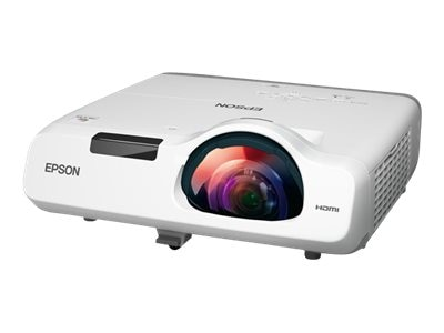 Epson PowerLite 530 XGA 3LCD Projector, 3200 Lumens, White Gray, V11H673320, 31769314, Projectors
