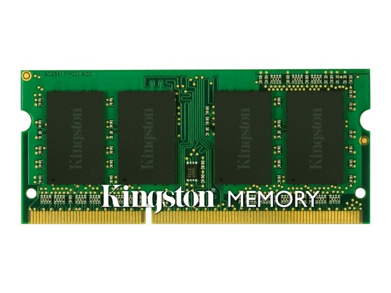 Kingston 4GB PC3-12800 DDR3 SDRAM SODIMM, KTL-TP3CL/4G, 15911579, Memory
