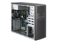 Supermicro Barebone, Mid-Tower, Intel P67 Express, Max 32GB, 4x3.5 SATA, 7xSlots, 500W PS