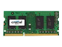 Crucial 2GB PC3-12800 204-pin DDR3 SDRAM SODIMM, CT25664BF160B, 15792856, Memory