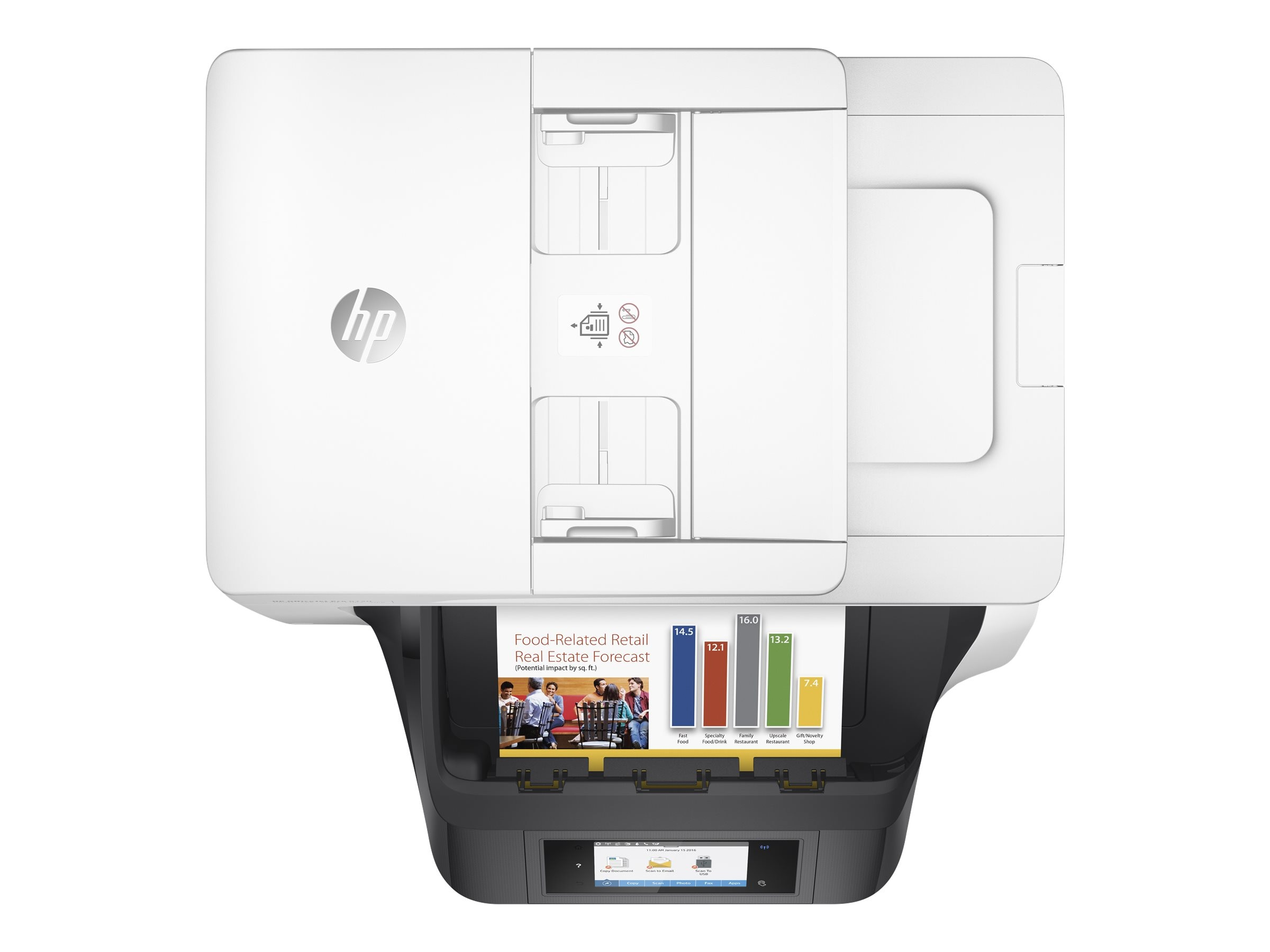 HP Officejet Pro 8720 All-In-One Printer, M9L75A#B1H