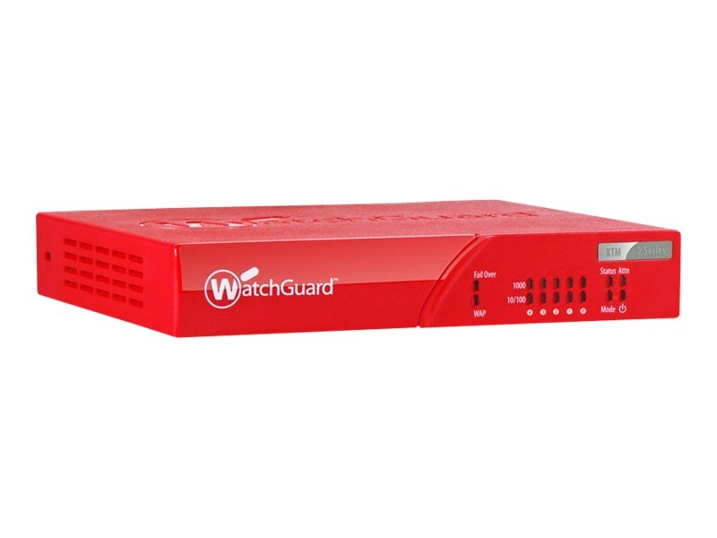 Watchguard XTM 26 3-Year Security Bundle, WG026033, 13674215, Network Firewall/VPN - Hardware