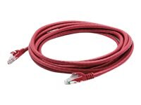ACP-EP CAT6 STP 24AWG PVC Snagless Molded Patch Cable, Red, 7ft